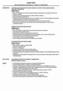 Resume Objective For Teaching Linguistics Newcomb Tulane College Career Services