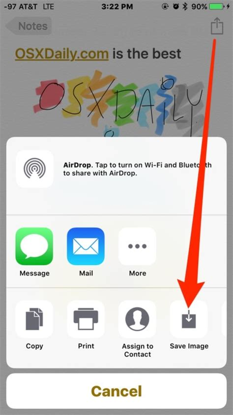 how to save notes from iphone how to use the drawing tools in notes for ios
