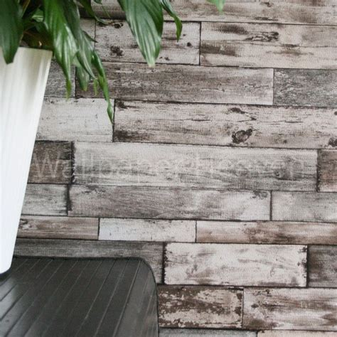 wood plank effect wallpaper 10 best images about bedroom on pinterest textured wallpaper grey and beige and beams