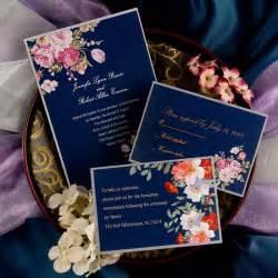 navy wedding invitations peony navy blue printable vintage wedding invitations ewi137 as low as 0 94