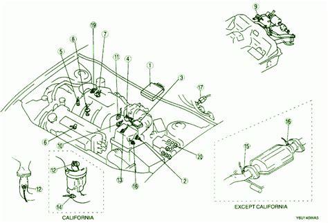 Fuse Box Mazda 626 2000 by 2000 Mazda 626 Front Fuse Box Diagram Circuit Wiring