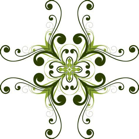 clipart flourish flower design  egrafis