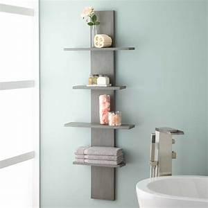 wulan, hanging, bathroom, shelf, -, four, shelves