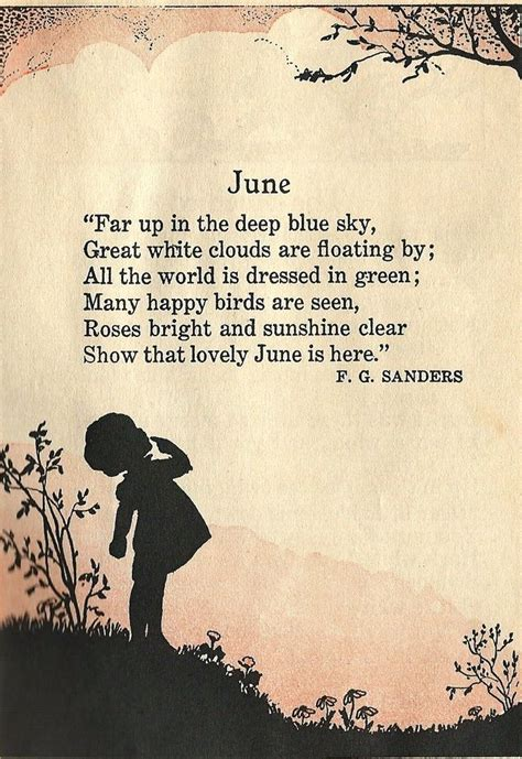 poem  june word love pinterest poem happy
