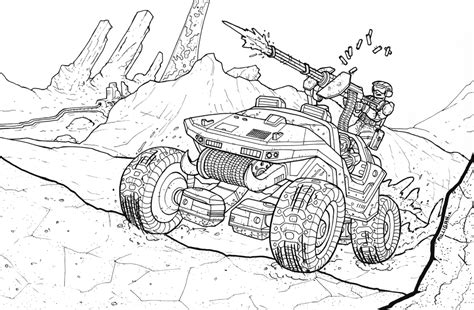 halo warthog drawing halo warthog pages coloring pages
