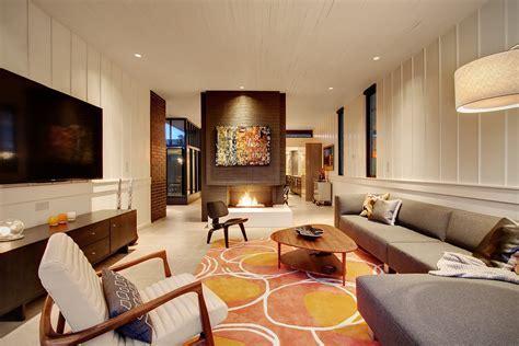 mid century modern decor Living Room Midcentury with