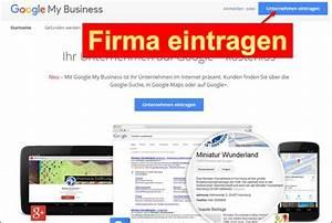 Firma Kostenlos Eintragen : google unternehmen firma eintragen in google mybusiness ~ A.2002-acura-tl-radio.info Haus und Dekorationen