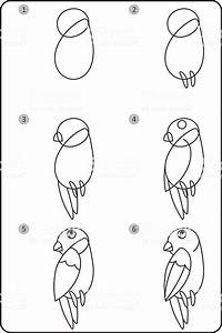 How To Draw Bird Easy Drawing Bird For Children Step By