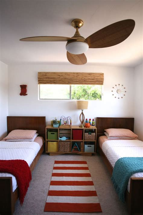 Bedroom Ceiling Fans With Lights by Modern Ceiling Fan Light Wood Mid Century Harbor