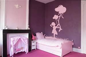 chambre fille modele de peinture pour chambre de petite With modele de chambre fille