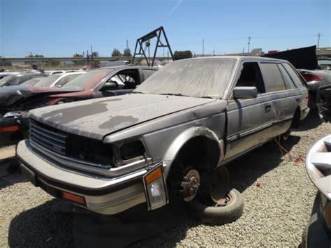 junkyard find  nissan maxima station wagon
