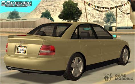 download car manuals 2000 audi a4 regenerative braking audi a4 2000 for gta san andreas