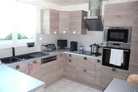deco cuisine blanc et bois cuisine ikea d