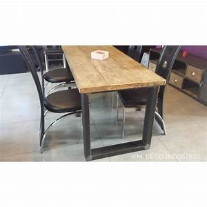 table a manger style industriel With table de salle a manger style industriel