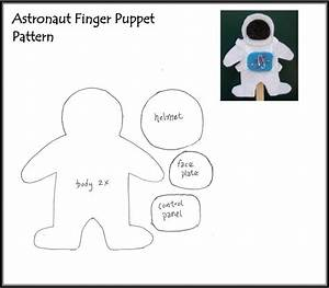 Astronaut Puppet Template - Pics about space
