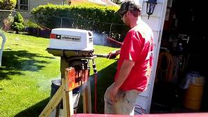Johnson Outboard Homemade Electric Start Harness