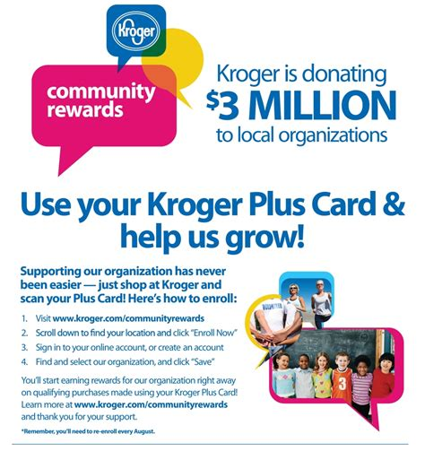 kroger community rewards woodford theatre