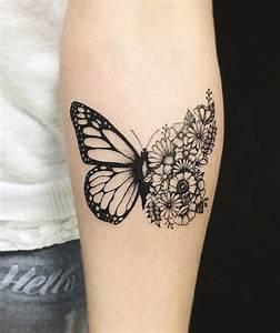 Tatouage Demi Bras Homme : 1001 designs de tatouage papillon pharamineux ~ Melissatoandfro.com Idées de Décoration
