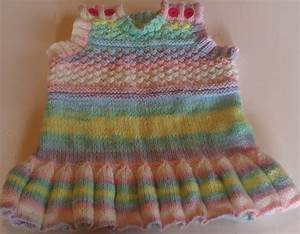 Baby Pinafore Pattern a free knitting pattern for a babies ...