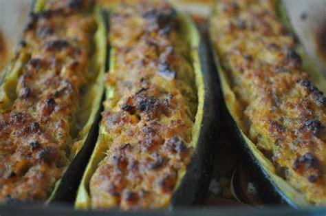 recette courgettes farcies  la viande hachee