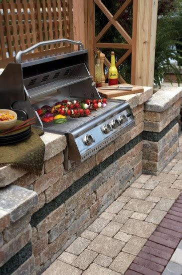 unilock outdoor kitchens photos