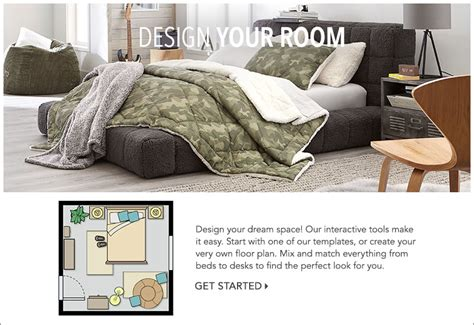 Room Planner Pbteen by Design Your Own Room Pbteen