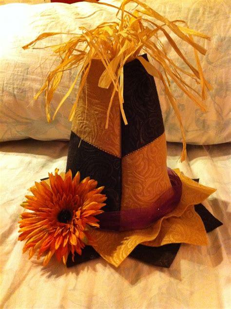 scarecrow hat   felt scarecrow hat felt diy
