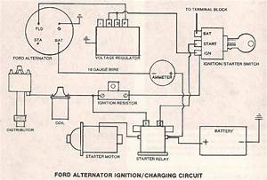 Ford Alternator Regulator Wiring
