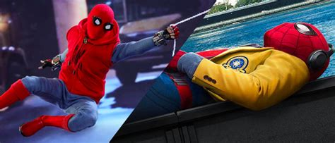 spider man homecoming posters  homemade suit toy