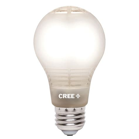 led light bulbs at home depot cree 60w equivalent soft white 2700k a19 dimmable led