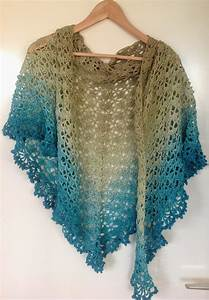 K Van Kneuterig  Crochet Shawl