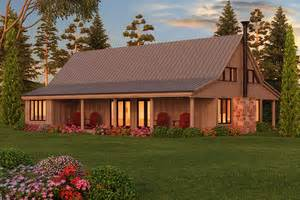 Barn House Plans With Porches by Barn Style Plans Houseplans