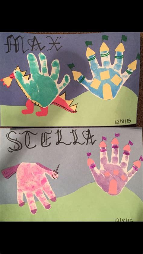 handprint dragons unicorns and castles childcare 687   c764d15b935d59504bdb98902d7cfc01