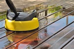 comment entretenir une terrasse en bois ou composite With comment nettoyer une terrasse