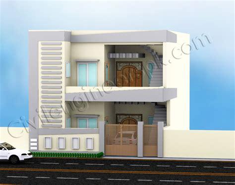three bedroom houses 5 marla house design civil engineers pk