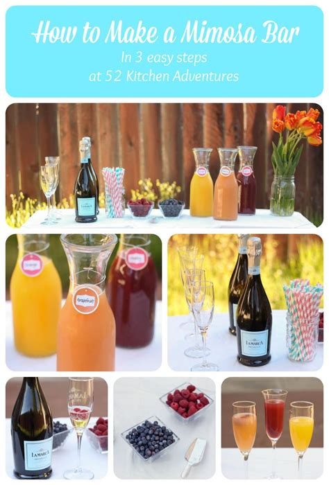 how to make a mimosa how to make a mimosa bar in 3 steps mothers mother s day and mimosa bar