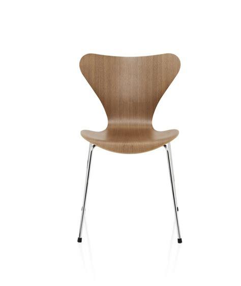 chaise danoise chaise série 7 design arne jacobsen pour fritz hansen