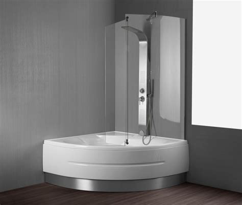 vasche da bagno combinate con doccia vasca da bagno quot montreal quot 140x140 cm
