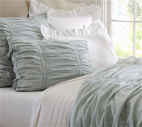 ruched duvet cover hadley ruched duvet king cal king gray mist