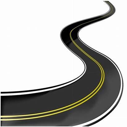 Road Clipart Curvy Highway Vector Asphalt Clip