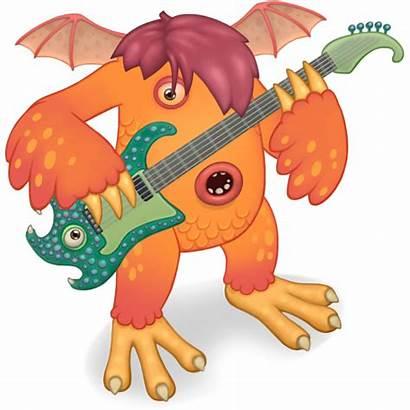 Riff Monsters Singing Element Breeding Quad Monster