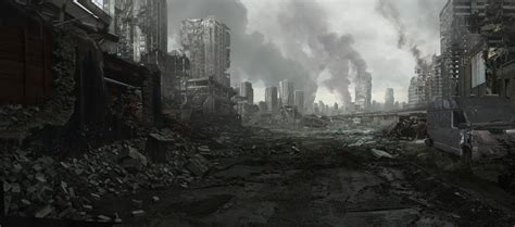 The Evil Within Background City Ruins 002 By Everlite On Deviantart