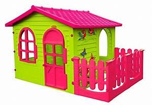 Kinderhaus Garten mit Terrasse XXL für drinnen und Draußen