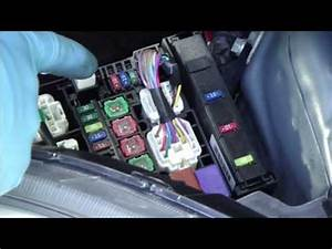 How To Check And Change Fuses Toyota Yaris  Year Models