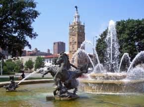 file jc nichols fountain by henri l 233 on gr 233 ber kansas city