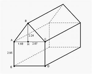 Calcul Surface Toiture 2 Pans : g om trie forum de maths 581336 ~ Premium-room.com Idées de Décoration