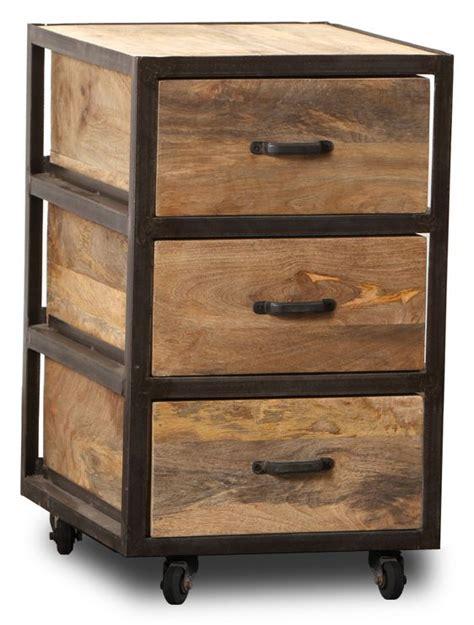 caisson de bureau en bois caisson de bureau en teck