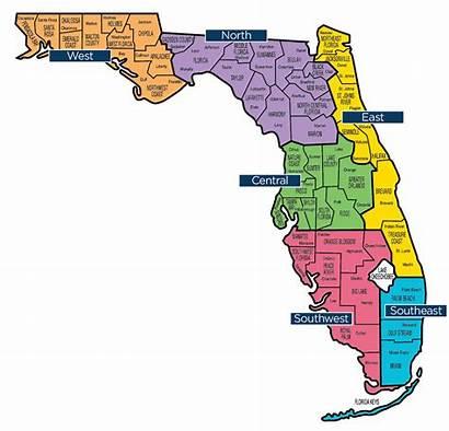 Map Regional Florida Fbc Tags Region Baptist