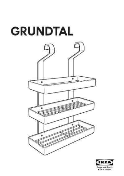 Ikea Grundtal Spice Rack by Ikea Grundtal Spice Rack Furniture User Guide For