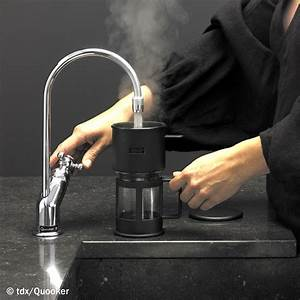 Kochendes Wasser Aus Dem Hahn : schlauer wasserhahn kochendes wasser ohne zeitverlust smart wohnen ~ Orissabook.com Haus und Dekorationen